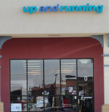 Up and Running Store Front