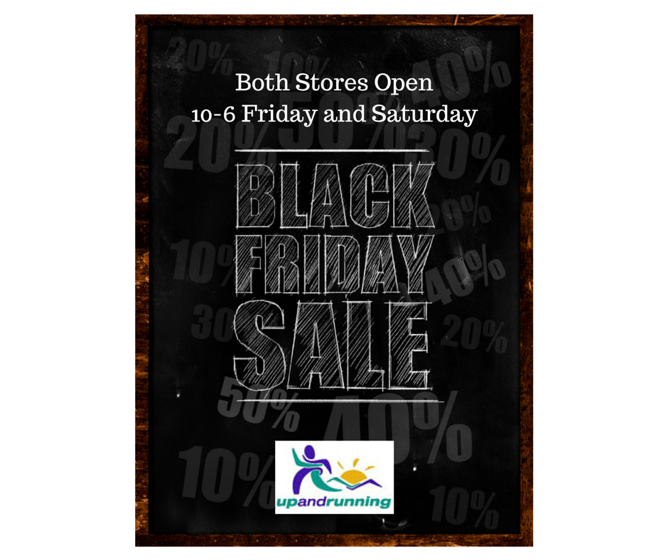 Black Friday Sale - Up and Running 2014