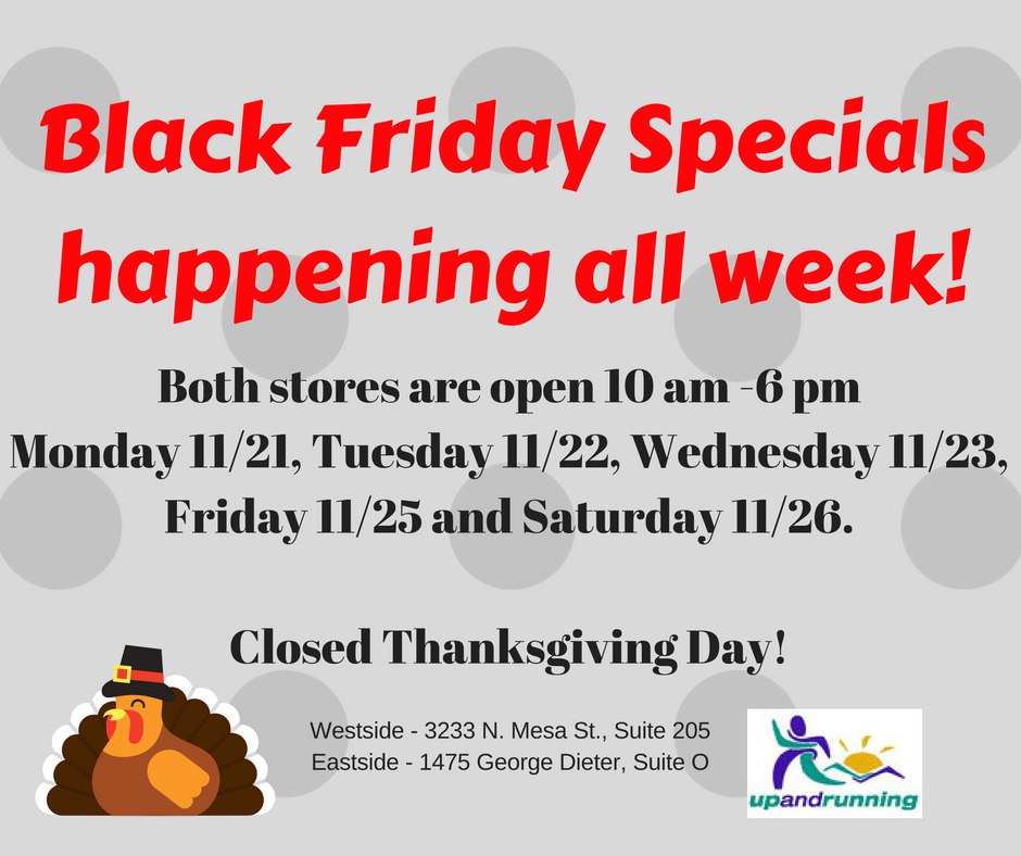 Black Friday Specials All Week